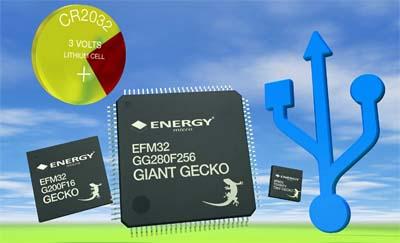 Energy Micro: EFM32 Giant Gecko