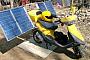 Мотоцикл на солнечных батареях