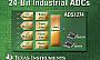 Компания Texas Instruments выпустила новые 4- и 8-канальные 24-битные АЦП