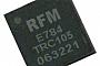 RFM предлагает беспроводной трансивер TRC105 на 300-510 МГц с ультранизким энергопотреблением