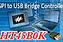 Holtek выпускает контроллер преобразователя интерфейса SPI в USB