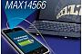 Maxim представила схему идентификации источника заряда через USB MAX14566Е