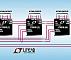Генератор LT8500 способен обеспечить независимое ШИМ управление 48 светодиодными строками