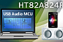 Holtek выпускает микроконтроллер для применения в USB аудио системах