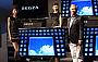 Toshiba рекламирует 55-дюймовый телевизор с высоким разрешением и возможностью просмотра 3D без использования специальных очков