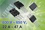 Новые высоковольтные MOSFET транзисторы Vishay работают при токах до 47 А и отличаются ультранизким сопротивлением канала