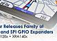 EXAR предлагает расширители ввода-вывода на 8 или 16 GPIO