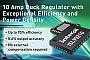 Новый понижающий преобразователь фирмы Intersil обеспечивает выходной ток 10 А при исключительно высоком КПД