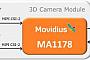 Movidius совместно с Toshiba разработала 3D-систему высокого разрешения для смартфонов