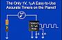 Touchstone Semiconductor представляет новейший таймер, потребляющий 1 мкА при напряжении питания 1 В