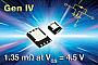 MOSFET транзисторы Vishay нового поколения имеют сопротивление открытого канала 1 мОм