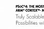 Cypress представила архитектуру программируемых систем-на-кристалле PSoC 4 с ядром ARM Cortex-M0