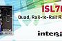 Intersil представляет новый прецизионный радиационно-стойкий счетверенный Rail-to-Rail операционный усилитель