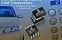 Microchip выпускает семейство высокоскоростных приемопередатчиков CAN