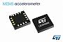 STMicroelectronics выпустила МЭМС акселерометр LIS344AHH