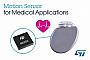 STMicroelectronics выпускает микросхему 3-осевого акселерометра для применения в медицине