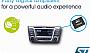 STMicroelectronics выпустила автомобильные цифровые аудио усилители с новыми функциями диагностики