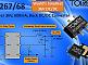 Torex представляет компактные 600-миллиамперные синхронные понижающие DC/DC преобразователи XC9267/68