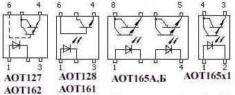 Переключатели с аналоговым (транзисторным) выходом