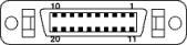 Цоколевка разъема Panel (DSP)