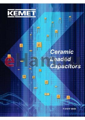 C412C689K2U5HA datasheet - Ceramic Leaded Capacitors