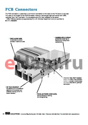 CWR-141-10-0001 datasheet - PCB Connectors