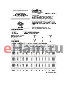 CMZ5928BP datasheet - SURFACE MOUNT SILICON ZENER DIODE 3.0 WATT, 3.3 THRU 200 VOLTS a5% TOLERANCE