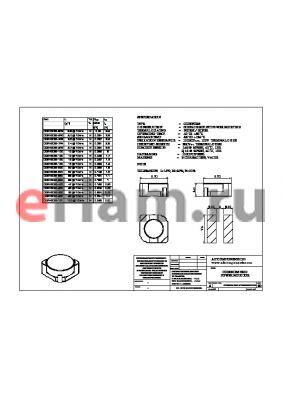 CDRH6D38-390 datasheet - CDRH6D38 SMD POWER INDUCTOR