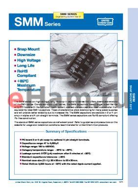 ESMM251VSN561MQ35T datasheet - Snap Mount