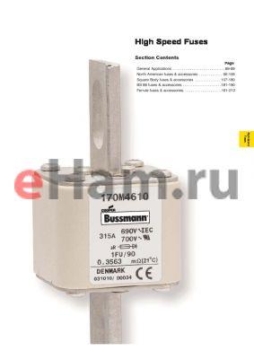 FWX-35A datasheet - High Speed Fuses