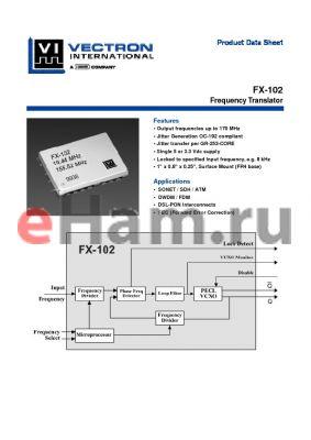 FX-102-CFC-D4D2 datasheet - Frequency Translator