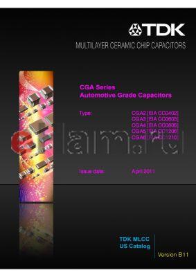 CGA5L1X7T2J473K datasheet - Automotive Grade Capacitors