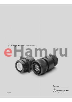 CGE0E2228H15H15FWB05 datasheet - High Power Connectors