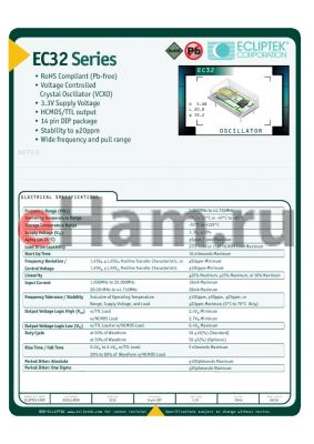 EC320010-24.000M-CL datasheet - OSCILLATOR