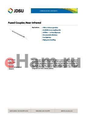 FFS-833A5 datasheet - Fused Coupler, Near Infrared
