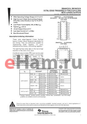 JM38510/65604BRA datasheet - OCTAL EDGE-TRIGGERED D-TYPE FLIP-FLOPS WITH 3-STATE OUTPUTS