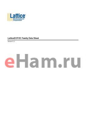 LFECP40E-5Q208C datasheet - LatticeECP/EC Family Data Sheet
