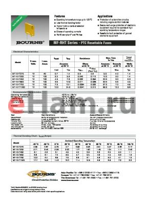 MF-RHT750-AP datasheet - PTC Resettable Fuses