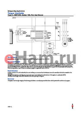 MSR10RD datasheet - Tongue Interlocks