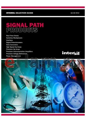 ISL32X73-5-7E datasheet - Providing high-performance solutions for every link in the signal chain