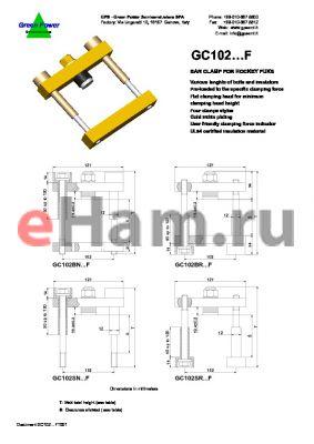 GC102BR5011012FS datasheet - Bar clamp for hockey punks